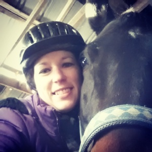 Getting ready for the lesson - but first - let me take a selfie.
