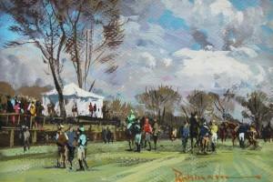Jockey Tent, Shawan Downs