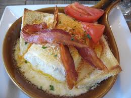 The Kentucky Hot Brown - a traditional dish of the bluegrass region.
