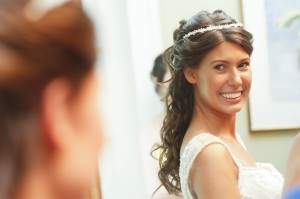 Seriously - most beautiful bride ever. My sister is gorgeous.