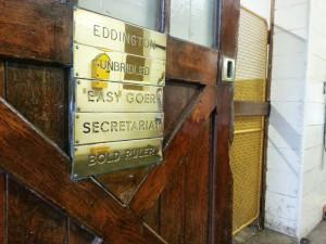 Secretariat's Stall